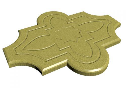 pavaje-floare-model-galben