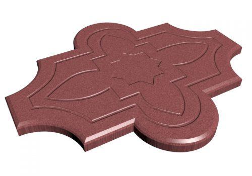 pavaje-floare-model-rosu