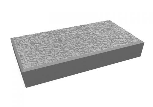 pavele 20x10 texturata gri
