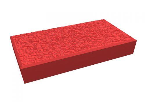 pavele 20x10 texturata red