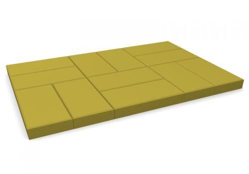 pavele 20x10simpla galben-mai multe piese