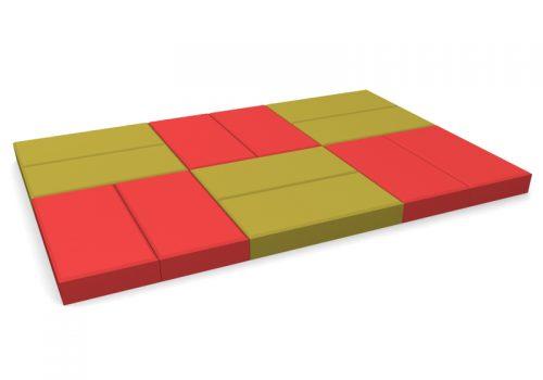pavele 20x10simpla rosu-galben-mai multe piese
